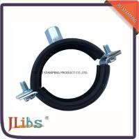Wholesale High Quality Cast Iron pipe clamp in Eurpe market welding  M8+10 nut with Rubber from china suppliers