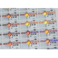 Wholesale Security Seal Custom Overlay Hot Stamping Labels / Laser Hologram Security Labels from china suppliers