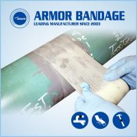 Easy to operate fast pipe repair armour tape and cable connection armored cast tape