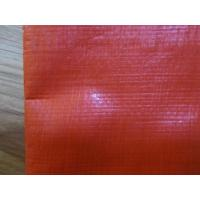 Wholesale 190gsm orange color/waterproof  PE Tarpaulin poly tarp from china suppliers