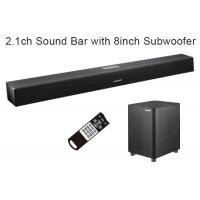 Wholesale Digital Home Theater Soundbar Speaker 2.1 Channel with Wired Subwoofer , 110W Max Output from china suppliers