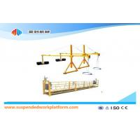Quality ZLP800 2.5 m * 3 Sections Suspended Access Equipment With Iron Counter Weight for sale