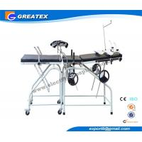 Wholesale CE ISO Stainless Steel Obstetric Delivery Bed With Wheels , ob gyn exam table from china suppliers