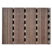Wholesale 12mm Acoustical Contemporary Wooden Wall Panels , Light Weight from china suppliers