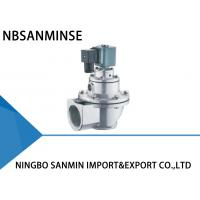 Wholesale Double Diaphragm Pulse Valve , Pulse Jet Solenoid Valve 24VDC / 110VAC SBFEC Type from china suppliers