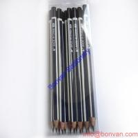 Wholesale Hexagonal Shape Stirp HB Pencil With Dip Head from china suppliers
