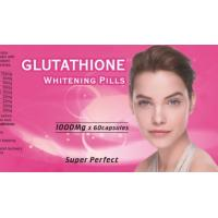Wholesale Health Natural skin whitening / Glutathione Whitening Pills 1000 mg from china suppliers
