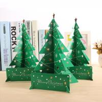 Wholesale Wholesale Mini Paper Christmas Tree Decor Desk Table Small Party Ornaments Xmas Gift from china suppliers