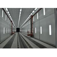 Wholesale Roller Shutter Door Truck Vehicle Paint Booth Downdraft With Working Platform from china suppliers
