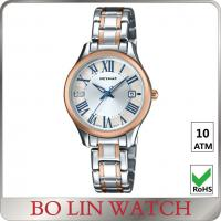 Wholesale Ladies MOP Auto Mechanical Watch , Mechanical Hand Watch With Stainless Steel Case from china suppliers