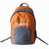 Wholesale Daypack/School Backpack, Made of 600D Polyester with 210D Lining, Measuring 31 x17 x 48cm from china suppliers