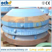 Trio TC84 Cone Crusher Concave and Mantle from Echo Machinery