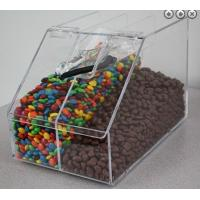 Wholesale Acrylic Candy Store Display Cases , Divided Acrylic Bin Display from china suppliers