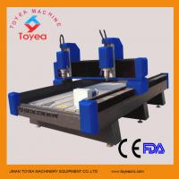 Quality Stone CNC Engraving machine with 1300 x 1800mm work area/4500W water cooling spindle TYE-1318C for sale