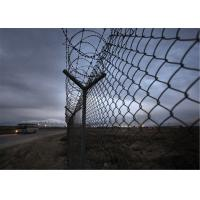 Wholesale PVC Coated Security Wire Mesh Chain Link Fence from china suppliers