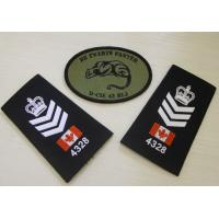 Wholesale Exclusive Epaulette Custom Embroidered Patches For Luggage Case from china suppliers