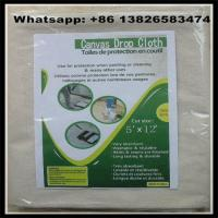 Wholesale 260 GSM 12X15 Canvas Drop Cloth China Supplier,8oz/10oz/12oz available from china suppliers