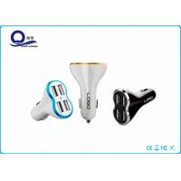 Wholesale IPad / Ipod Four Port USB Car Charger Plug , Car Lighter USB Adapter Charger from china suppliers