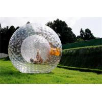 Wholesale Transparent Inflatable Zorb Ball Roll Inside Inflatable Ball TPU / PVC from china suppliers