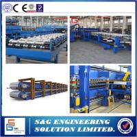 Quality Continuous PU Sandwich Panel Production Line PLC Control Rubber Belt for sale
