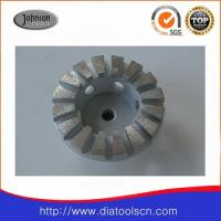 Wholesale 125mm Diamond Grinding Wheels with arc segment for concrete and stone from china suppliers
