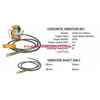 Wholesale 5.0HP Robin gasoline concrete vibrator, EY20 petrol motor with CE used for concrete vibrat from china suppliers