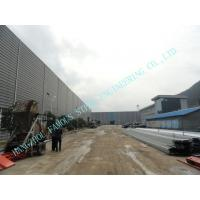 Wholesale Light  ASTM 65 X 95 Prefab Multipan Industrial Steel Buildings With Composite Boards from china suppliers