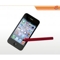 Wholesale Aluminium Colorful rubber nib Retro Capacitive Screen Stylus Pen for mobile phone, iPhone from china suppliers