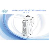 Wholesale Hair Removal Multifunction Beauty Equipment / ND YAG Laser E-Light IPL RF from china suppliers