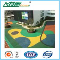 Wholesale Custom Epdm Rubber Flooring SBR Particles for School Playground High Impact Absorption from china suppliers