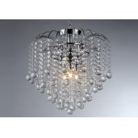 Wholesale 3 Lights Chrome Modern Crystal Chandelier Lighting / Pendant Lamp from china suppliers