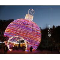 Wholesale Giant outdoor christmas lights LED big Ball 3D Motif Light from china suppliers