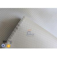 Wholesale Silver Coated Fabric Fire Resistant 0.2mm 220g Aluminized Fiberglass Cloth from china suppliers
