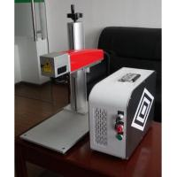 20W Mini fiber laser marking machine for plastic PVC data matrix and barcode