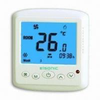 Wholesale Easy-to-operate Heating Thermostat with PC/ABS Shell/5 to 35ËšC Temperatures/Adopts NTC Sensor from china suppliers