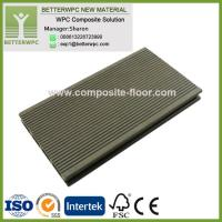 Wholesale 145*24mm Wholesale GoodPriceSyntheticPlasticWood Decking Highly UV Resistant WPC Decking Floor from china suppliers