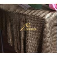Wholesale Flexibility Metal sequin cloth for home decorative from china suppliers