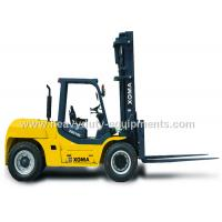 Wholesale Counter Balance Forklift 10 Ton Capacity Steering Axle Simplicity Maintenance from china suppliers
