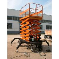 Wholesale High rise manual hydraulic lift platform Safety with anti - slip Table , 3.0kw from china suppliers