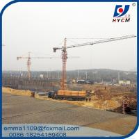 Wholesale 6t Load Capacity Hammer Head Tower Crane Types Of QTZ63-5013 Model from china suppliers