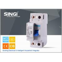 Wholesale F362 RCCB Residual Current Circuit Breaker , 2P , 4P earth fault Circuit Breaker from china suppliers