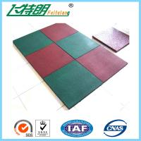 Wholesale Outdoor Kindergarten Playground Rubber Flooring tiles of  50×50× 2.5 cm from china suppliers