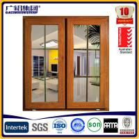 Quality Australia style awning glass aluminium windows for sale