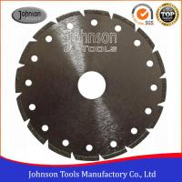 Wholesale Segmented Type Angle Grinder Diamond Blade , Electroplated Diamond Blades Clear Color from china suppliers