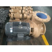 Wholesale Coaxial Horizontal Centrifugal End Suction Pump Hydraulic Easy Maintenance from china suppliers