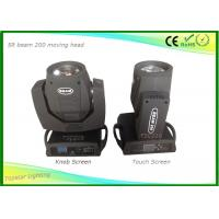 Wholesale Beam 200 5r Sharpy Moving Head Lights Portable Stage Lighting With 1 Color / Gobo Wheel from china suppliers