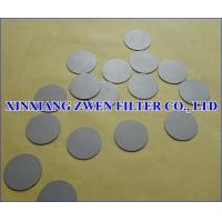 Wholesale Titanium Filter Disc from china suppliers
