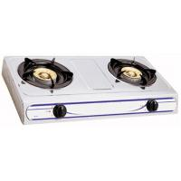 Wholesale Kitchenware Natural Gas Hob / 2 Burner Gas Stove With Enamel Pan Support from china suppliers