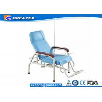 Wholesale Reclining Stainless Steel Medical Dialysis Chair / Blood Donor Chair from china suppliers