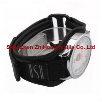 Wholesale hook and loop Nylon webbing/mesh fabric sewn watch wrist band with magic tape from china suppliers